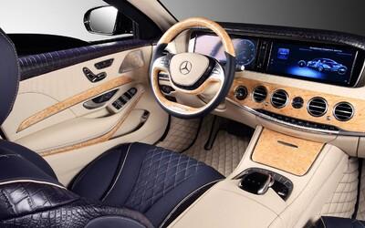 Najbezpečnejšia limuzína sveta, Mercedes S 600 Guard, dostala od TopCaru krokodíliu kožu!