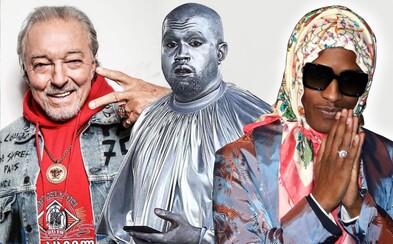 Najbizarnejšie momenty v móde roku 2019: Od Kanyeho šľapiek cez Karla Gotta až po virtuálnych influencerov