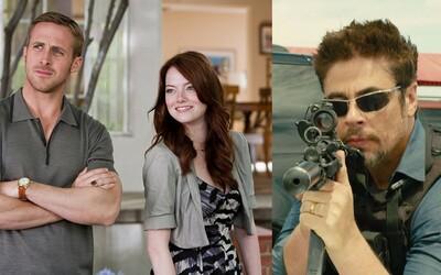 Najbližšie dni sa na našich televíznych obrazovkách romanticky zabavíme s Ryanom Goslingom a s Beniciom del Torom rozbijeme drogové kartely