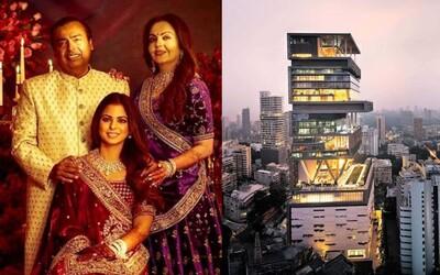Najbohatšia rodina Ázie žije v mrakodrape za 1 miliardu dolárov. Na svadbe hrala Beyoncé, doma majú tri heliporty
