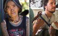 Najbolestivejšia tetovacia technika z Filipín, ktorej celý svoj život zasvätila 99-ročná starenka. Do kože ti pri nej búchajú tŕňmi
