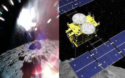 Najde známky života? Japonská sonda přistála na asteroidu a snaží se zjistit, jak vznikla sluneční soustava