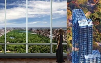 Najdrahšia budova v New Yorku poskytuje jej obyvateľom úžasný výhľad na Central park a nekonečný luxus v jednom