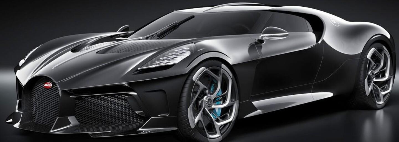 """Nejdražší auto na světě vypadá jako Batmobil. Bugatti """"La Voiture Noire"""" stojí skoro 400 milionů korun"""