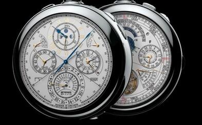 Najkomplikovanejšie hodinky. 18-karátové zlato, 2826 častí a cena 10 miliónov dolárov