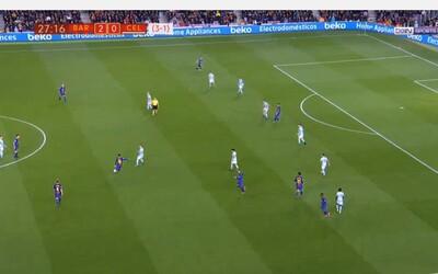 Najkrajšia asistencia, akú si kedy videl? Lionel Messi potvrdil svoju genialitu, keď Albovi ponúkol gól ako na striebornom podnose