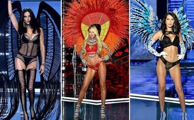 Nejkrásnější ženy světa oděné do luxusního spodního prádla. Jak to vypadalo na přehlídce roku, která je již za námi?