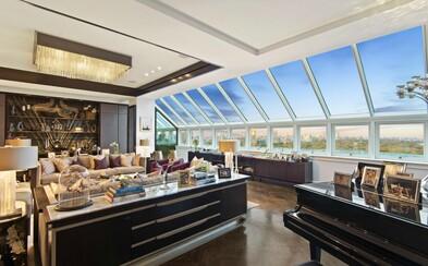 Nejlepší výhled na newyorský Central Park za 50 milionů. Penthouse Hotelu Plaza je opět na prodej