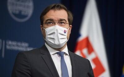 Najlepšie je opakovať testovanie na Covid-19 každých 5 dní, vyhlásil minister Krajčí. Od 8. februára počíta s otváraním obchodov