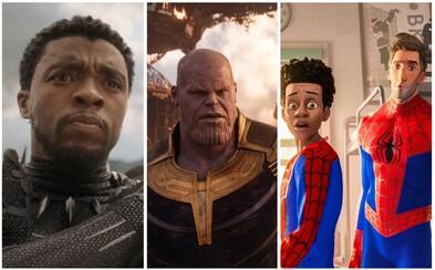 Najlepšie komiksové filmy roka 2018