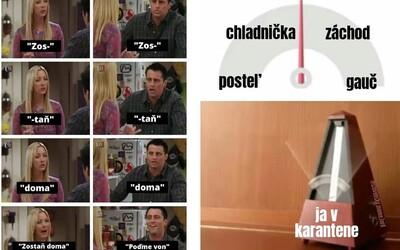 Najlepšie memes o karanténe: Pesnička Ja chcem byť v dome z Mojsejovcov je opäť v kurze