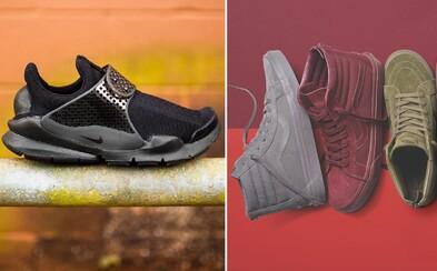 Najlepšie modely Nike, adidas, Vans alebo New Balance, ktoré kúpiš aktuálne u nás
