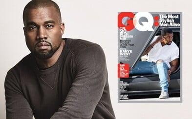 Nejlépe oblékaným mužem na světě se podle časopisu GQ stal Kanye