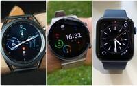 Najlepšie smart hodinky tohto roka? Porovnali sme Samsung Galaxy Watch3, Huawei Watch 2 GT Pro a Apple Watch Series 6