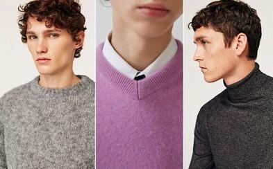 Najlepšie svetre a značky úpletového oblečenia pre pánov. Priprav sa na chladné počasie s týmito nádhernými kúskami