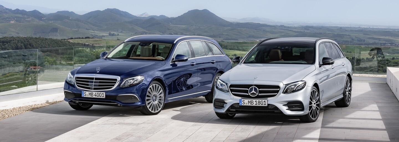Nejluxusnější, nejinteligentnější a nejpraktičtější, to je nový Mercedes-Benz třídy E kombi