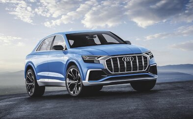 Nejluxusnější Audi nabírá na reálnosti. Koncepční model Q8 je obrovský plug-in hybrid se 450 koňmi