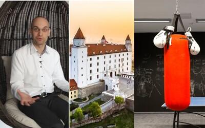 Najmodernejšie pracovné priestory v celej Bratislave? Vo firme Adient nechýbajú boxovacie vrecia, pingpong či úžasný výhľad
