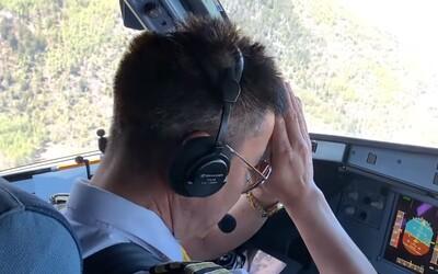 Najnebezpečnejšie priblíženie lietadlom na svete. Letisko obklopujú hory, pokochať sa môžeš Mt. Everestom