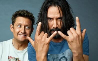 Najnovší film Keanu Reevesa sa vráti do nostalgických 90. rokov. Bill a Ted 3 sa už začínajú natáčať
