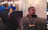 Najnovší uletený klip Kanyeho Westa dostal trefnú paródiu. James Corden podľa komentárov natočil lepšiu verziu