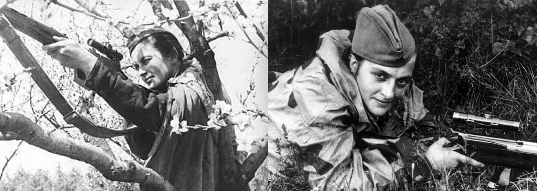 Najobávanejšia ostreľovačka všetkých čias. Jej výstrely zabili 309 nacistických vojakov v rozmedzí jediného roka