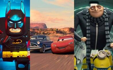 Najočakávanejšie animované filmy roka 2017. Uvidíme dve Pixarovky, Lego Batmana či Mimoňov!