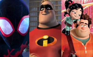 Najočakávanejšie animované filmy roka 2018 ovládne Rodinka úžasných, internetový Ralph Rozbi-to či Spider-Man a Hotel Transylvania