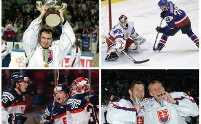 Najpamätnejšie a najemotívnejšie momenty slovenského hokeja v histórii samostatného štátu