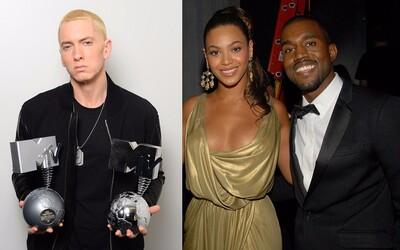 Najprepracovanejšie hip-hopové skladby píše Eminem. Texty od Kanyeho či Beyoncé hravo prečíta aj tretiak