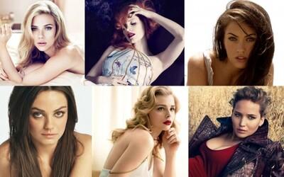 Najpríťažlivejšie herečky Hollywoodu a ich pripravované filmy