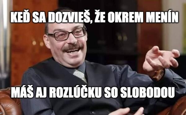 Najprv oslávil meniny, potom mal rozlúčku so slobodou: Slováci si hromadne uťahujú zo zadržaného Dobroslava Trnku