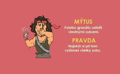 Nejrůznější filmové mýty, nad kterými při sledování ani přemýšlíme. Granát však zuby neodjistíš!