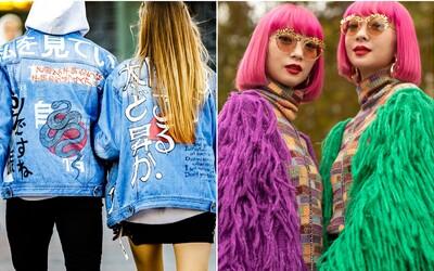 Najroztomilejším trendom z koncoročných týždňov módy z celého sveta sú zladené outfity