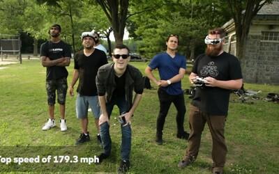 Najrýchlejší dron na svete pokoril rekord a cez park preletel rýchlosťou až 289 kilometrov za hodinu
