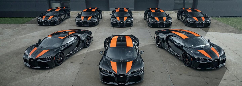 Najrýchlejšie auto planéty putuje k majiteľom. Bugatti vyrobilo prvých 8 kusov Chironu Super Sport 300+
