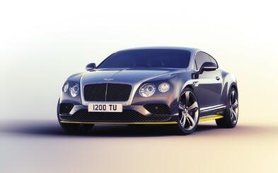 Najrýchlejšie Bentley v histórii vo farbách tímu Breitling Jet chce byť so svojimi 635 koňmi cestnou stíhačkou!
