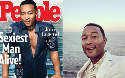 Najsexi mužom na svete je John Legend