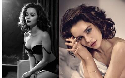 Najsexi žena sveta. Emilia Clarke zaujme nejedno mužské oko na sérii šteklivých fotografií