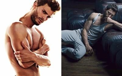 Najsexy mužom planéty je Christian Grey z Päťdesiat odtieňov sivej. Jamie Dornan ťa jeho presvedčivou krásou rozpáli