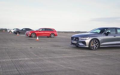 Najsilnejšie Volvo na trhu vyzvalo v šprinte nemeckú trojku. Ukázalo sa, že to nemalo robiť