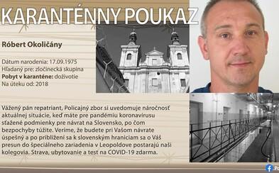 Najskôr vianočné pohľadnice, teraz karanténne preukazy. Polícia svojsky hľadá piatich najhľadanejších Slovákov