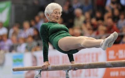 Najstaršia aktívna 88-ročná gymnastka dokazuje, že vek je len číslo!