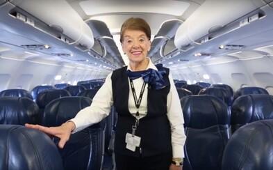 Nejstarší letušce na světě je 82 let. Do důchodu se však ještě vůbec nechystá