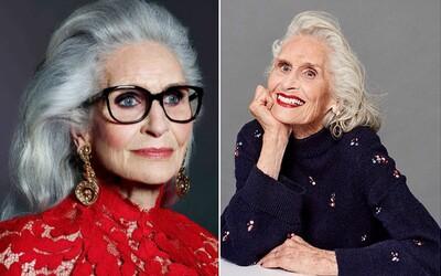 Najstaršia supermodelka na svete: Daphne má 89 rokov, no aj tak sa stala tvárou novej kampane