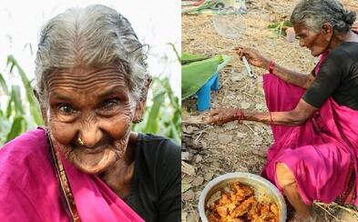 Nejstarší YouTuberka na světě má 106 let a světu ukazuje pravou tvář Indie. Milou babičku si internet přímo zamiloval