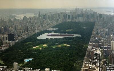 Najväčší ropný tanker by sa ledva vošiel do jazera v Central Parku. Fascinujúce fotografie poukazujúce na perspektívu, v ktorej vnímame objekty