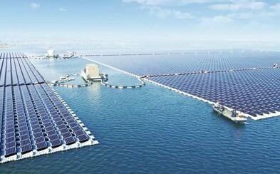 Najväčšia solárna elektráreň, ktorá pláva. Čína ukázala celému svetu, ako treba bojovať s klimatickými zmenami