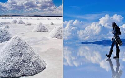 Najväčšia soľná pláň na svete a zároveň prírodné zrkadlo ukrýva nevídanú krásu