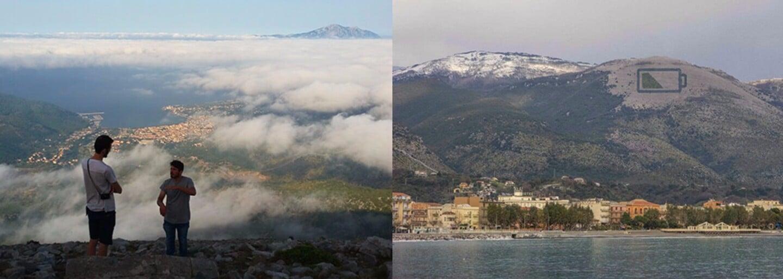 Najväčšie európske umelecké dielo bude dopĺňať baterky odlesnenej hore v Taliansku. Vyrastie na nej cez 5000 stromov